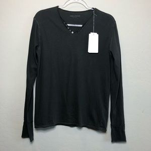 NWT Zadig & Voltaire Long Sleeve Top RB